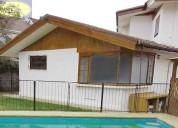 Venta de casa sÓlida con piscina - bosques de montemar, concÓn // vc253