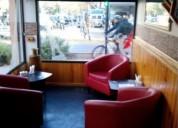 Hermosa cafetería en providencia