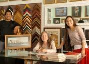 Vendo negocio de enmarcados y cuadros
