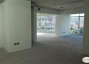 Espectacular oficina en edificio centro sur. 156 m2, contactarse.