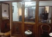 Oficina amoblada recepción 2 privados 2 baños