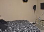 Departamento amoblado 3 dormitorios grande