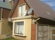 Arriendo excelente casa indivual 2 pisos.