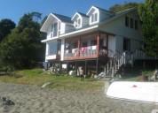 Cabaña vacaciones x dia; orilla de mar
