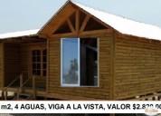 Hermosas casas prefabricadas. oportunidad!.