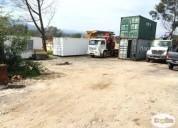 Camion pluma rampla obras fierros tuberias