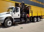 Arriendo excelente camiones pluma