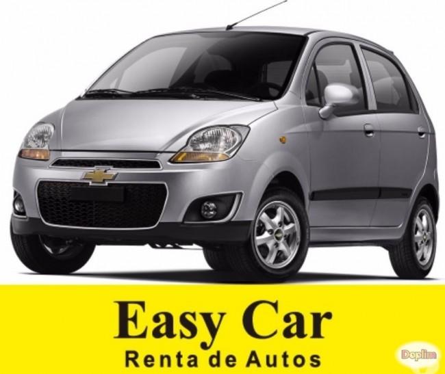 renta de autos Easy Car. Contactarse.