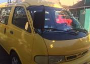 Transporte escolar, furgón kia besta, año 2002, contactarse.
