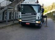 Vendo camion pluma scania. contactarse.