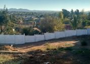 Terreno urbanizado en barrio residenci