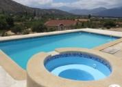 Oportunidad!. amplia parcela con 3 casas, piscina, curacavi