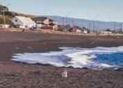 Terreno y casona con hermosa vista al mar
