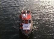 Vendo lancha maniobras maritimas