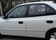 Excelente hyundai accent, año 2004 color blanco
