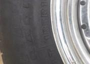 Vendo 4 llantas cromadas con neumáticos aro 14 luv. contactarse.