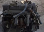 Motor mercedes benz con turbo 5 cilindros. contactarse.