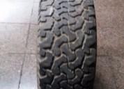 Excelente llanta con neumático para mitsubishi l200 dakar, montero