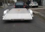 Excelente trailer aluminio americano para vehiculo