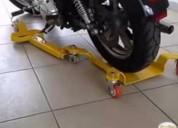 Oportunidad!. plataforma ajustable para estacionar y mover motos