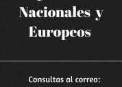 Compro cuadros nacionales y europeos