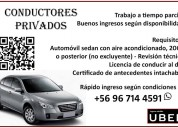 Conductores privados en chile