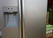 refrigerador syde by syde daewoo semi nuevo