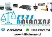 servicio tecnico de balanzas electronicas