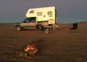 Camper nuevo para camioneta doble cabina