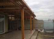 Cobertizos, terrazas, pérgolas -- santiago y v región