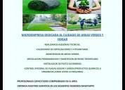 Servicios integrales para jardín