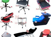 Muebles de peluquería, nuevos colores a elección 2017