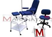 Sillón de  podologia, kit sillón , silla y mesa nuevos 2017