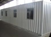 Oficinas modulares, baterías de baños y bodegas