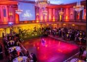 Fiestas galas iluminación sonido montaje banqueteria