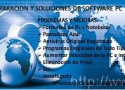 Formateo servicio tecnico computadores antofagasta mi casa particular $9000/a domicilio $15000