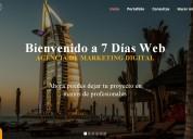 Páginas web profesionales en 7 días por solo 300 $