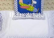 Vendó cobertores y sábanas para bebes