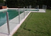Rejas para piscinas, reja piscina peineta, reja piscina tradicional