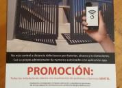 apertura desde celular porton ó barrera