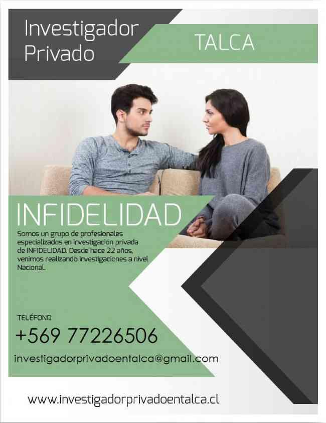 Investigadores privados Talca, Chile.