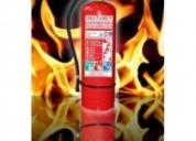 Ventas y recargas de equipos contra incendios