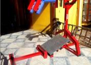 Vendo maquina prensa squata para gym y telescopio