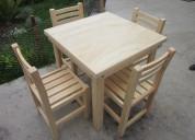 Necesito carpintero con experiencia en muebles de comedor