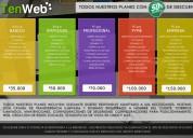 Diseño y desarrollo web con 50% de descuento.