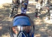 Arma tu equipo, y a jugar paintball. force delta paintball chile