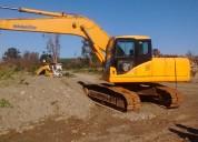 Se vende excavadora komatsu