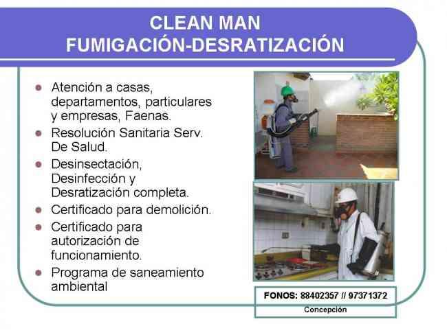 Fumigación y Desratización en Concepción