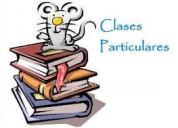 clases particulares a domicilio enseÑanza bÁsica y media