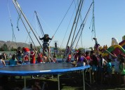 Bunge trampolin acero 4 en 1